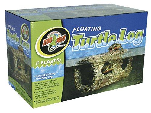 Zoo Med TA-40E Floating Turtle Log, schwimmendes Versteck für Wasserschildkröten, Amphibien