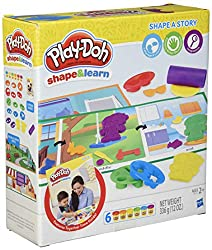 play doh sets shapes