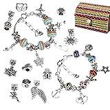 QH-Shop Kit per Creazione Braccialetti Ragazze, Fai-da-Te Artigianali Set di Creazione di ...