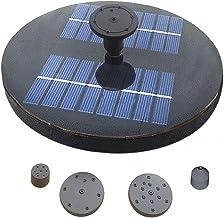 Funien Piscina com bomba de água solar Fonte solar com lagoa de jardim Pulverizadores de água com pulverizador Fonte solar...