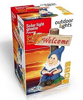 Outdoor Lights 56551 Ceramic Gnome Multicoloured