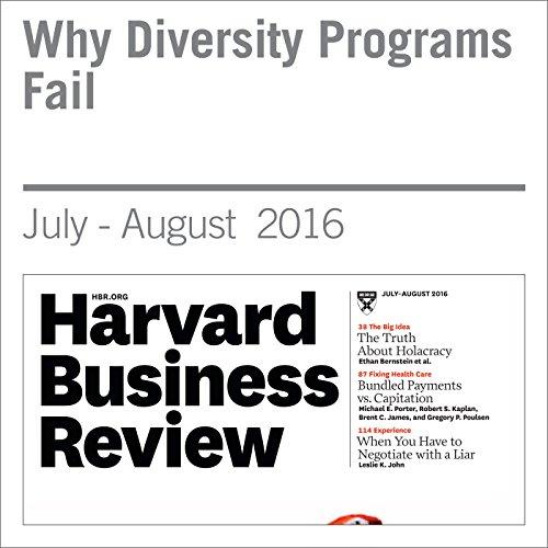 Why Diversity Programs Fail audiobook cover art
