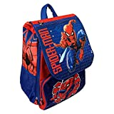 M.C. srl Zaino Spiderman Marvel Uomo Ragno Estensibile Scuola ELEMENTARE CM. 40X29X27 - SP0730