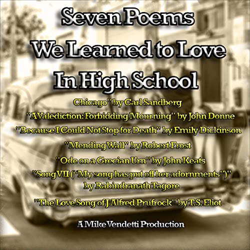 『Seven Poems We Learned to Love in High School』のカバーアート