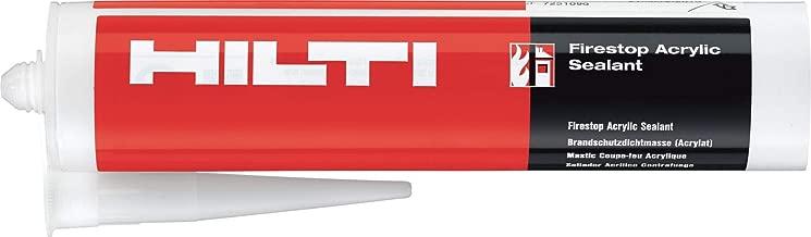 Hilti 3441442 FS sealant CP 606 19.6oz foil 1 case white firestop fire protection