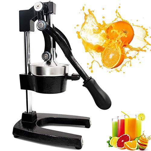 RUCHUFT Professioneller Mixer, Handpresse Manuelle Fruchtsaftpresse Saftpresse Zitrus Orange Zitrone Granatapfel Haushalt Und Gewerbe, Black