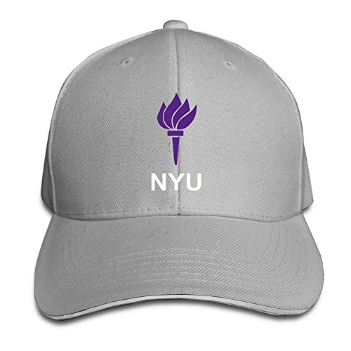 BOoottty New York University Garden NYU Flag Flex Baseball Cap Ash