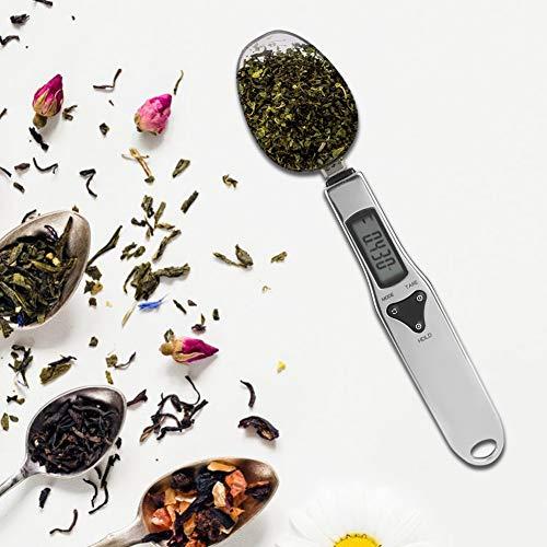 【𝐏𝐚𝐬𝐜𝐮𝐚】 Báscula de cocina de acero inoxidable Báscula de cuchara Báscula de pesaje Balanza multifuncional para el hogar Laboratorio de pesas Para el hogar Báscula de medición de cocina