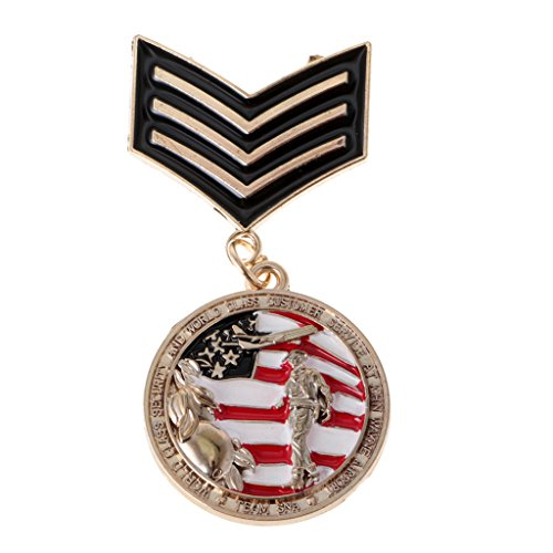 Harilla Pin de Broche de Insignia de Fiesta de Disfraces de Vestido de Streampunk de Medalla de Uniforme para Hombre