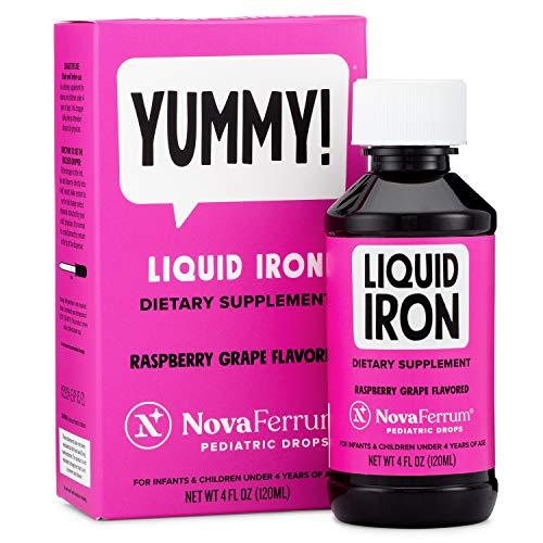 NovaFerrum Pediatric Drops Liquid Iron Supplement for...