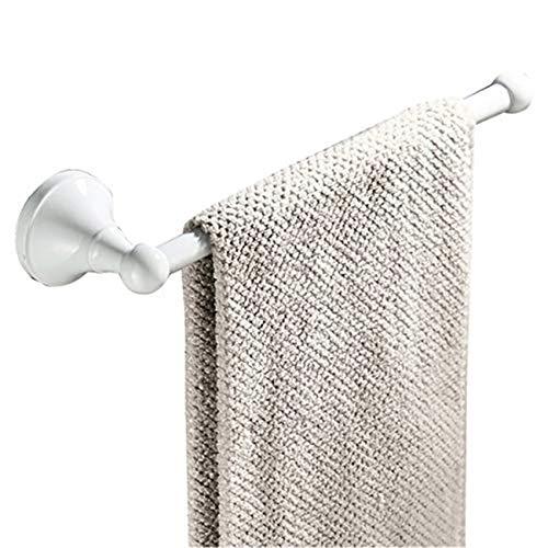 Flybath Handtuchring Messing Handtuchhalter Wandmontage, Weiß