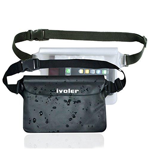 Ivoler [2 Unidades] Riñonera Impermeable Universal