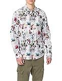 Desigual CAM_Abelardo Camiseta, Blanco, XL para Hombre