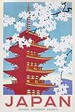 1art1 Empire 213495 Vintage - Japan Railways - Werbung