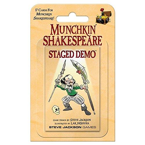 Steve Jackson Games SJG04259 - Munchkin Shakespeare - Staged Demo