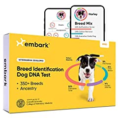 BREED DISCOVERY: Embark screens for over 350 dog breeds, types, and varieties. Using a research-grade genotyping platform developed in partnership with Cornell University College of Veterinary Medicine, Embark offers the most accurate breed breakdown...