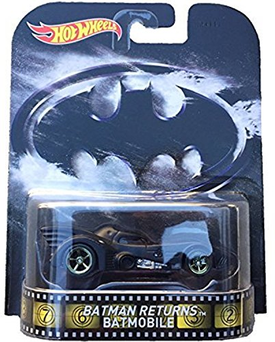 Hot Wheels Batman Returns Batmobile 2015 Retro Series 1/64 Die Cast Vehicle