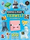 Minecraft Tierwelt Stickerbuch: Ein offizielles Minecraft-Stickerbuch