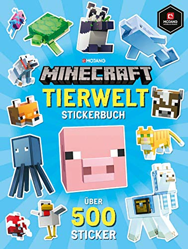 Minecraft Tierwelt Stickerbuch: Über 500 Sticker
