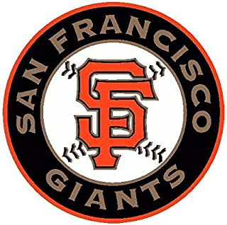 San Francisco Giants Stickers and Decals | Size - 6 Window Vinyl Poster Bumper | San Francisco Giants car Emblem