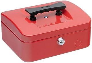 5 Etoiles ETL-918907 Caisse à monnaie 160 x 200 x 90 Acier Rouge