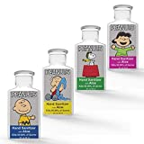 Peanuts Hand Sanitizer Gel with Aloe Vera - 4 Pack Peanuts Gang