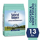 Natural Balance Limited Ingredient Diets Chicken & Sweet Potato Formula Dry Dog Food, 13 Pounds, Grain Free