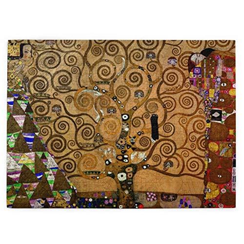 Klimt   Rompecabezas de madera, 520 piezas, diseño de árbol de la vida