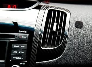 Artx Air Vent 3D Carbon Fabric Decal Stickers 2-pc Set For 2010 2011 2012 Kia Forte Koup : Cerato Koup