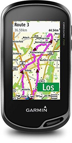 Garmin Oregon 700 Outdoor Guide - integriertes WLAN. Aktivitätsprofile. Geocaching Live (Generalüberholt)