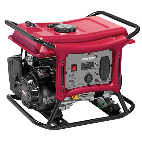 Powermate PC0141400 1400 Watt Gas Powered Portable Generator