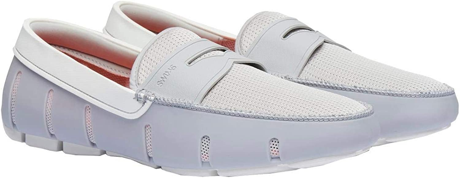 Swims Penny Loafers - Alloy White