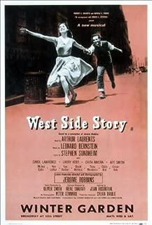 West Side Story Poster (Broadway) (14 x 22 Inches - 36cm x 56cm) (1957) Style B -(Larry Kert)(Carol Lawrence)(Chita Rivera)