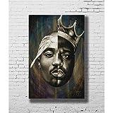 Zahuishile Notorious B.I.G Biggie Smalls Tupac Shakur Hip