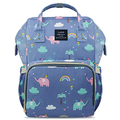 Harmony Life LAND Cute Diaper Bag Backpack Large Capacity Baby Nappy Tote Bags