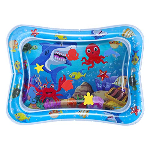 Purchase Toyvian Inflatable Water Mat PVC Cooling Training Crawling Pad Water Cushion