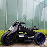CHUHJ Electric Motorcycle For Kids, Unisex-Kids 6V Battery Electric Ride On Motorcycle Toy