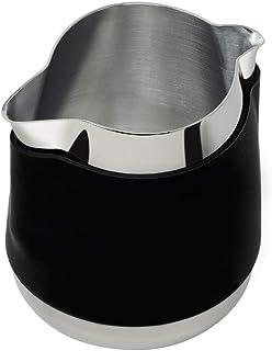 /Ø 4,5 x 5 cm 0,08 l APS 40640 Set di 4 mini contenitori per latte in acciaio INOX