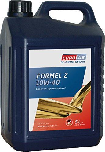 EUROLUB FORMEL 2 SAE 10W-40 Motoröl, 5 Liter