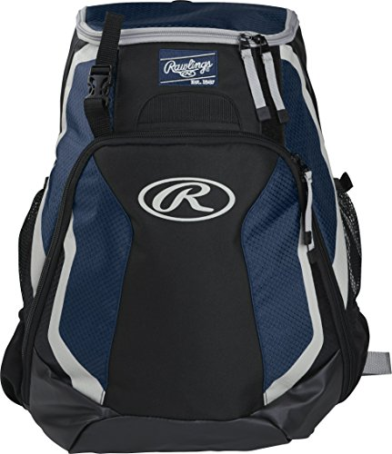 Rawlings R500 Series Baseball/Softball Backpack, Navy