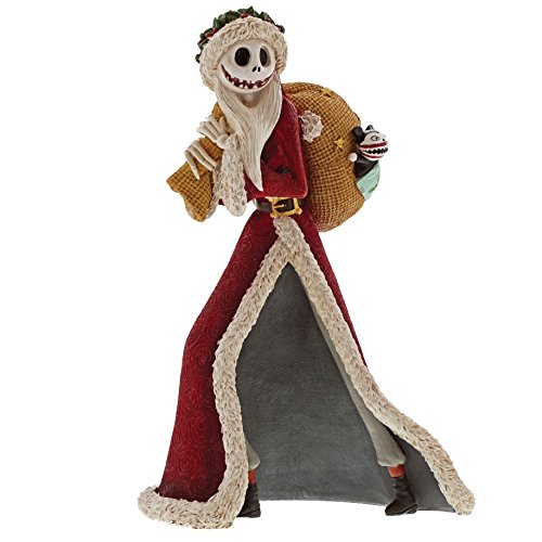 Pesadilla Antes de Navidad - Estatua Jack Skellington Santa