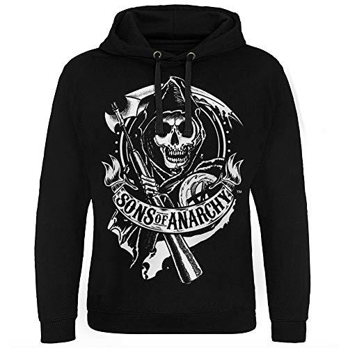 Sons of Anarchy Licenciado Oficialmente Scroll Reaper Sudadera con Capucha Epic