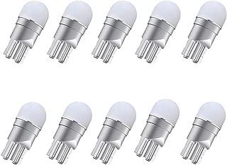 194 Led Bulbs, 168 Led Bulbs, 12v White T10 2825, 152, 158, 159, W5W, 147, 161, 175, 184, 192, 193 Led Bulbs for Dome Light Map Light Courtesy Trunk License Light,Pack of 10 pcs
