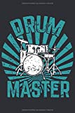 Schlagzeug Notizbuch: Ein perfektes Geschenk für alle Schlagzeuger
