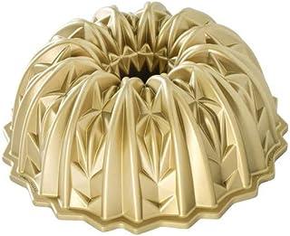 Nordic Ware 92877 - Sartén de aluminio fundido con cristales cortados, color dorado