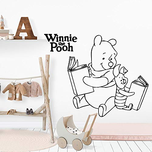 Winnie The Pooh Wall Decal NOUVEAU Winnie The Pooh BOOK Stickers Muraux Art Stickers Mode Pour Bébés Chambre Enfants Accessoires