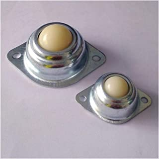 YINGJUN 4pieces 25.4mm Nylon Beads Universal Ball Wheels Robot Cow Eyeballs Ball Caster Wheels (Totale lengte 70mm)
