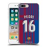 Head Case Designs Licenciado Oficialmente FC Barcelona Pedri 2021/22 Players Home Kit Group 1 Carcasa de Gel de Silicona Compatible con Apple iPhone 7 Plus/iPhone 8 Plus