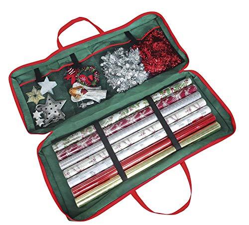 Geschenkpapier Aufbewahrungstasche in schönem Weihnachtsmotiv |Geschenketasche |Aufbewahrungstasche