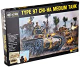 Bolt Action Type 97 Chi-Ha Japanese Medium Tank 1:56 WWII Military Wargaming Plastic Model Kit